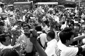 Political prisoners released from Insein prison in Burma
