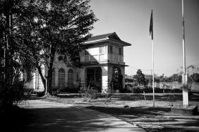 Aung San Suu Kyi's home at 54 University Avenue, Rangoon, Burma