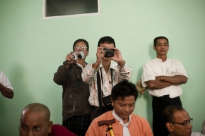 Military Intelligence in Rangoon